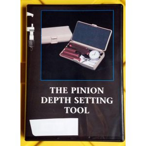 PINION DEPTH SETTING TOOL INSTRUCTIONAL VIDEO ~ DVD